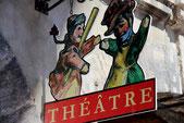 Enseigne du théâtre de Guignol