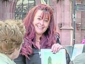 Gästeführerin Anja Hoffmann erzählte von den Türmern im Dom.