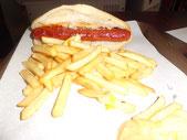 Le sandwich merguez du Kass Dall à Auray