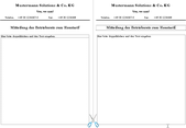 PC/GEOS Office-Assistenten-Vorlage Aushang DIN A5 gewerblich