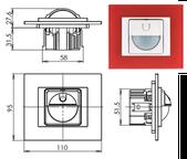 Interrupteur automatique de la gamme DECENTE