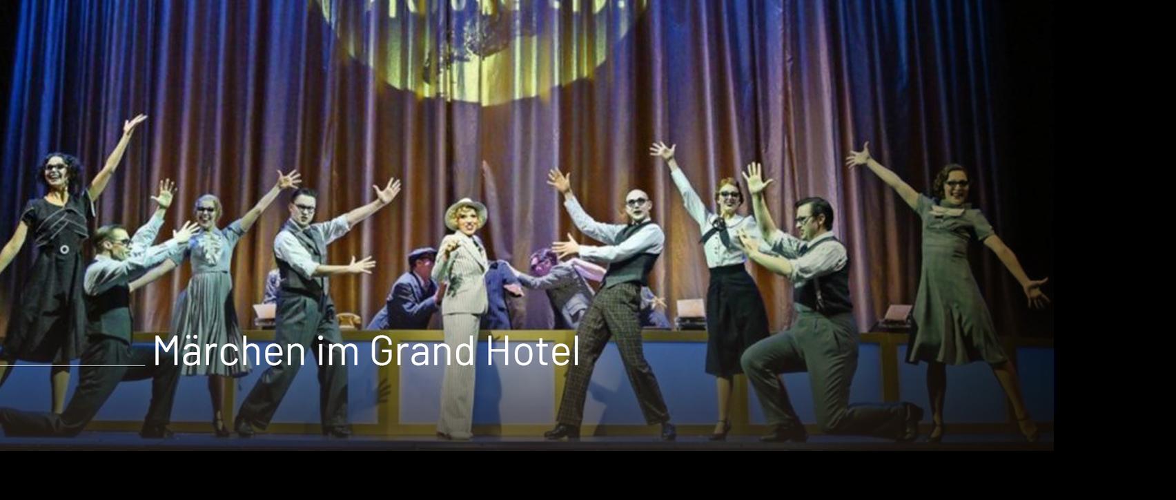 Heute Nacht oder nie / Komische Oper Berlin / Kai Tietje