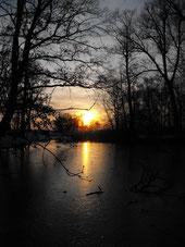 Sonnenuntergang in Karlshof