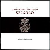 Thomas Fheodoroff spielt Bachs Solosonaten - Für Bestellungen klicken Sie bitte auf das CD-Cover!
