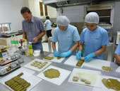 Grape Leaves Production