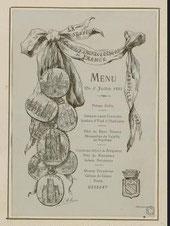 menu Congrès archéologique 1893