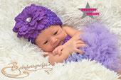 Neugeborenen Newborn Baby Mädchen Mütze Beanie mit Blume sehr elastisch Taufe Hochzeit Sommermütze Outfit Set Fotoshooting babyshooting babyfotografie