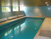 Das beheizte Schwimmbad im UG. läd bei schlechtem Wetter zum Entspannen ein.