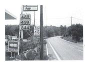 l'essence en  Francs 1986