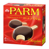 森永乳業「PARM(パルム)」