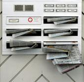 Sieht es so an Ihrem Briefkasten aus?