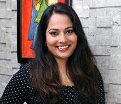 Eine internationale Stipendiatin: Viroopa Volla