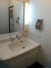 洗面所 大きい鏡