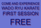 First practice sesion is free!