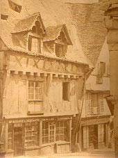 La Maison du Pou-Volant, Grande Rue à Laval (Mayenne)