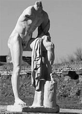 Ostia Antica - Statua di Cartilio Poplicola