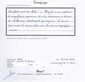 témoignage séance photo bébé MD Photographies - Magali Deschamps