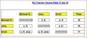 2007 Herren Rangliste  Tennis 17-19