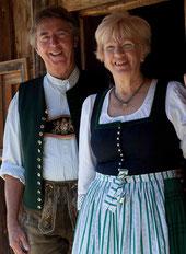Ihre Gastgeber in Schliersee: Heinz & Lotte Maurer