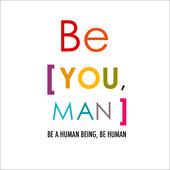 tableau-be-human-be-you-man