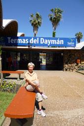 Die Termas del Dayman sind mit knapp 3 € pro Tag günstig ....