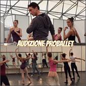 Il Coreografo Marcello ALGERI in audizione presso Milano danza Expo