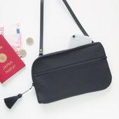 お財布ショルダー【ラージサイズ】イタリアンバックル