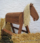 Holzpony aus Douglasie