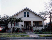 The 4030 East Fisher Street house in East Los Angeles, California  USA