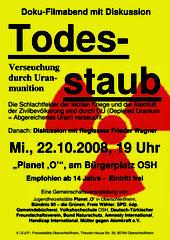 Frieder Wagner am 22.10.2008 Todesstaub - Verseuchung durch Uranmunition