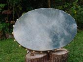 ovale Rahmentrommel