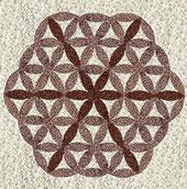 Blume des Lebens, Mandalas,  Dachkunst, Malerei fürs Dach von Dachmalerei