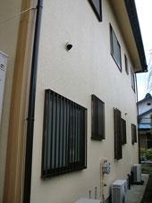外壁リフォーム施工実績:外壁塗装完了後