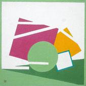 abstrait, formes géometriques, rond, carré, lignes