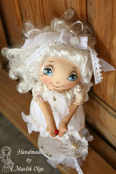 Кукла ангел, текстильная. Маслик Ольга