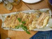 秋刀魚の和風ピカタ