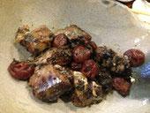秋刀魚と梅干しの梅酒煮