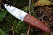 Couteau à Pomme - manche loupe d'amboine