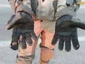 Handschuhe tot gefahren ;-)