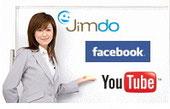 Jimdoホームページ作成