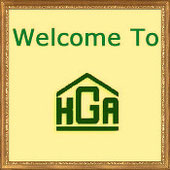 Sign: Welcome to the Hobby Greenhouse Association