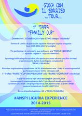 """1 Tappa """"FAMILY CUP"""" (rinviata causa Allerta 2)"""
