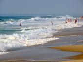 Océan et plages à Mimizan (Landes)