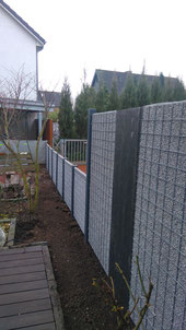 Bau von Splittgabionen, Steingabionen in Isernhagen und Hannover