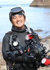 水中写真家 中野誠志プロフィール写真