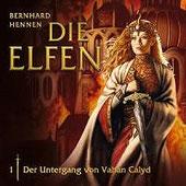 CD Cover Die Elfen - Der Untergang von Vahan Calyd