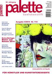 Artikel Künstlerporträt in der Ausgabe 4/2014