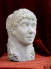 Testina stile antica Roma