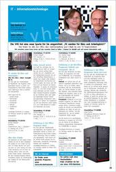 Programmheft VHS - Dortmund, IT-Bereich, 2. Halbjahr 2016