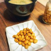 柿の神髄で作る酢大豆